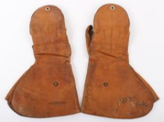 Royal Flying Corps Air Gunners Flying Gauntlets