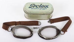 Pair of Vintage Aviators Flying Goggles