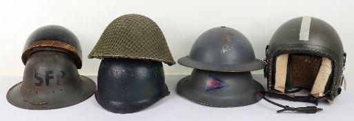 RAF Bone Dome Flying Helmet