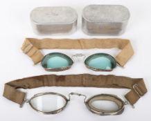 2x Pairs of Aviators Luxor Goggles No7 by E B Meyrowitz