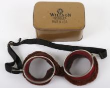 Vintage American Aviators Wilson Goggles