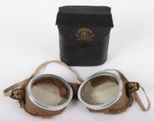 Pair of Vintage Triplex Aviators Goggles