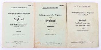 WW2 German Invasion of England Books