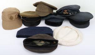 EIIR Royal Air Force Officers Service Dress Peaked Cap