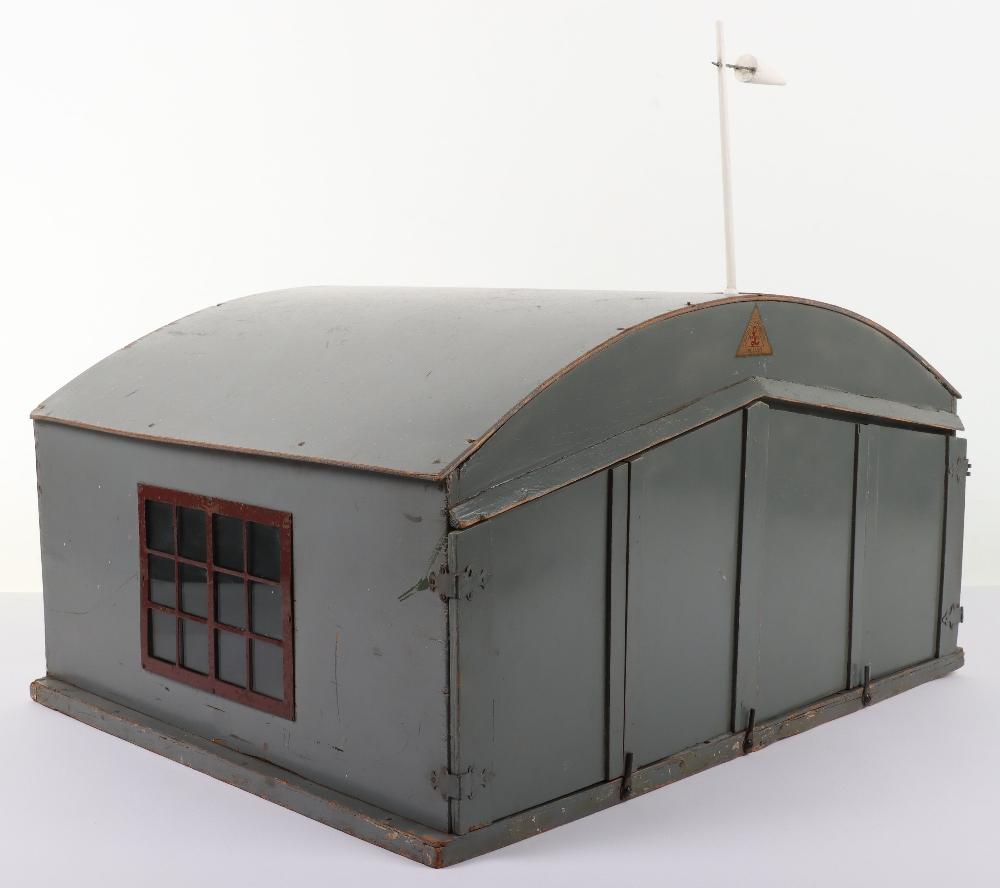 Rare Lines Brothers Model Aeroplane Hangar, - Image 5 of 10
