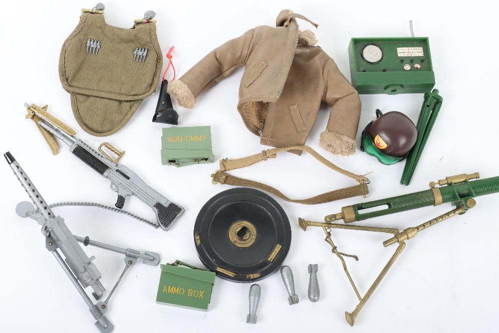 A Quantity of Vintage Original Action Man Uniforms Accessories From 1960's Combat Soldier