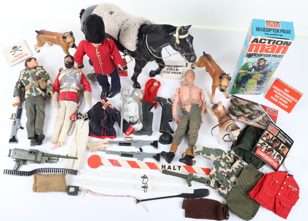 A Large Quantity of Vintage Action Man Dolls, Clothes and equipment - Image 2 of 10