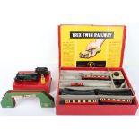Boxed Trix 3-Rail Twin Railway Engine and Tender