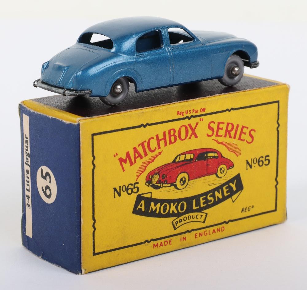 Matchbox Moko Lesney Regular Wheels 65a Jaguar 3.4 litre - Image 2 of 3