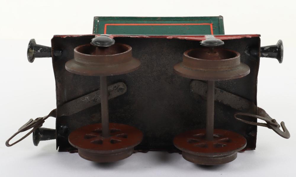 Rare Bing gauge I four-wheel Side-Tipping wagon, German circa 1904 - Image 4 of 4