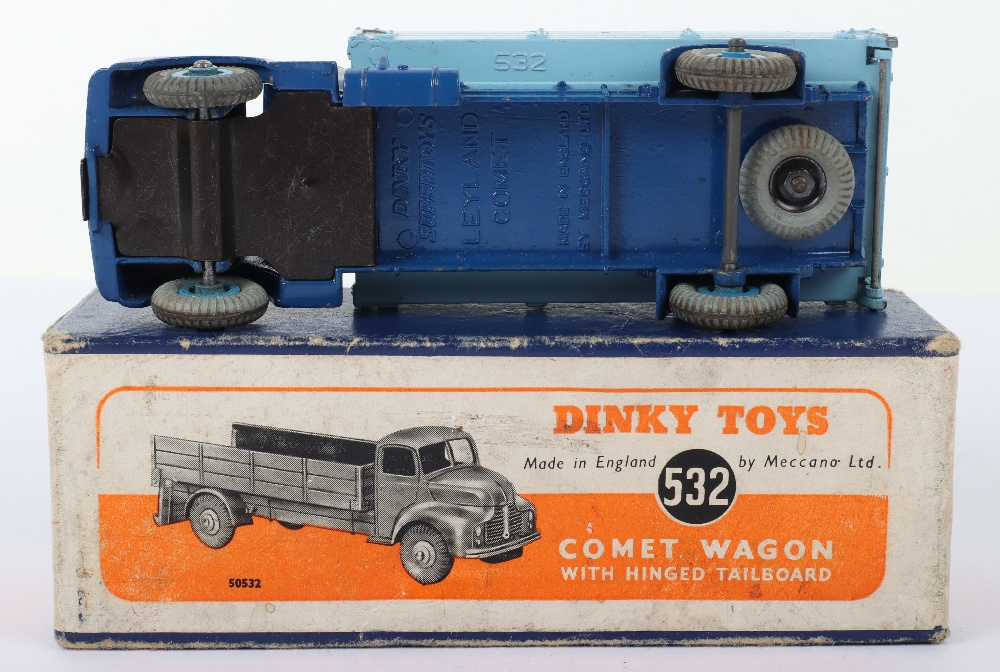 Dinky Toys 532 Leyland Comet Wagon with hinged tailboard - Image 3 of 3