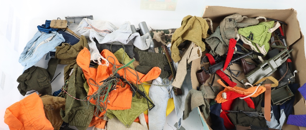 A Large Quantity of Vintage Action Man Dolls, Clothes and equipment - Image 10 of 10