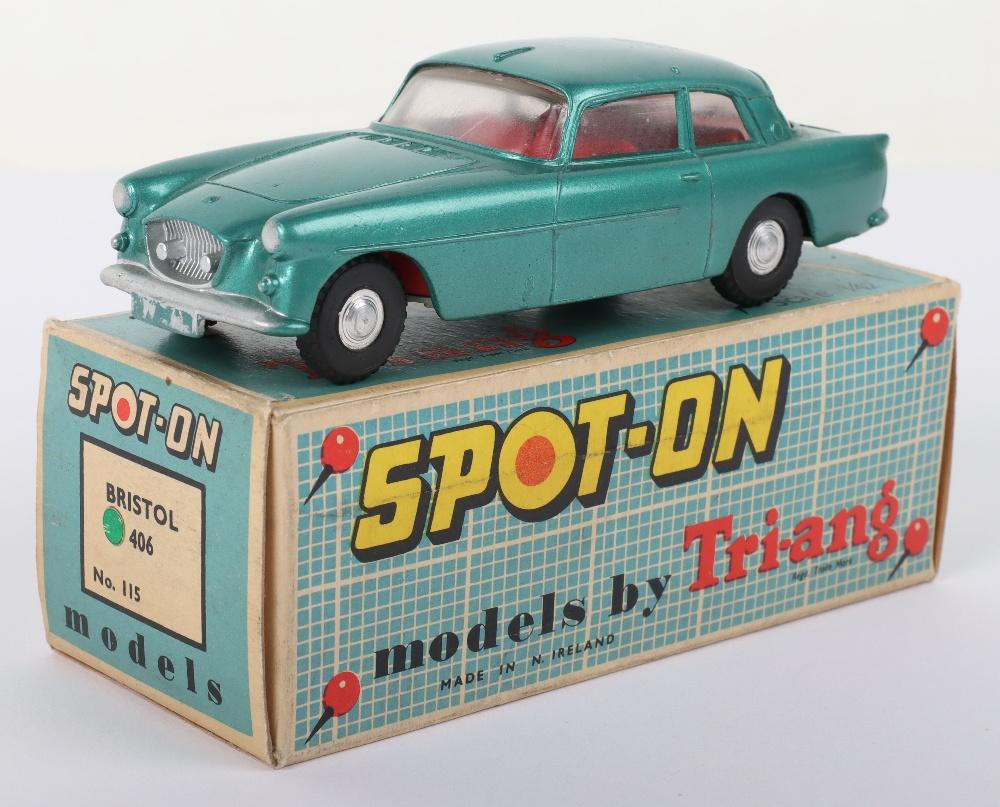 Tri-ang Spot On Model 115 Bristol 406 Saloon