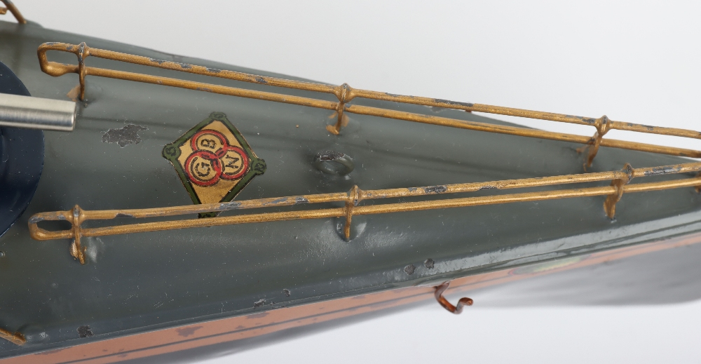 A Bing tinplate clockwork Torpedo boat - Image 4 of 7