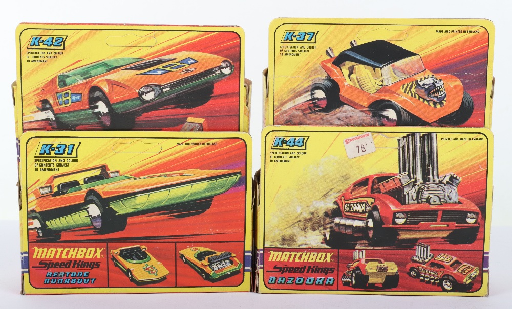 Four Boxed Matchbox Speedkings - Image 2 of 2