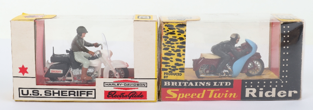 Two Britains Ltd Boxed Motorcycle Models