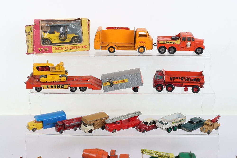 Large Quantity of Playworn Matchbox/Hotwheels mixed diecast toys, - Image 2 of 3