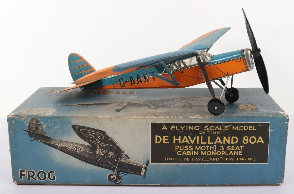 Frog Aeroplane Model De Havilland 80A Puss Moth - Image 2 of 10