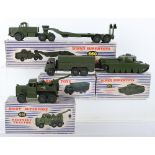 Four Boxed Dinky Supertoys Military Models