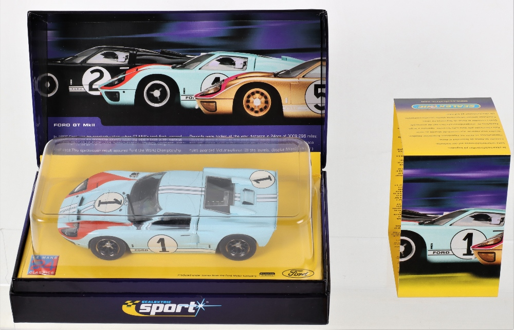 Two Boxed Scalextric Sport Limited Edition Slot Cars Ford GT MKII Le Mans - Image 2 of 3