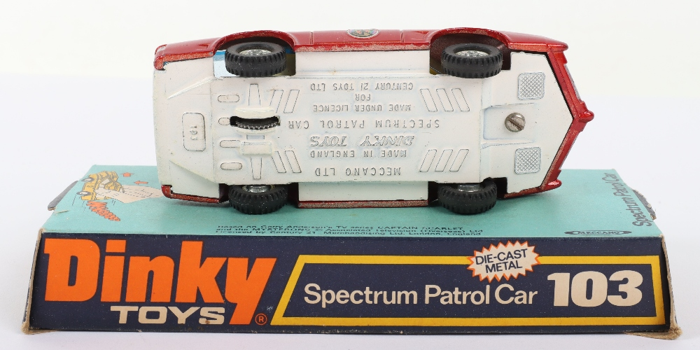 Dinky Toys 103 Spectrum Patrol Car from 'Captain Scarlet - Image 4 of 4