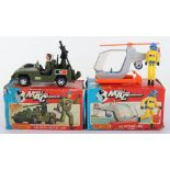 Two Boxed Matchbox Mobile Action Command Sets