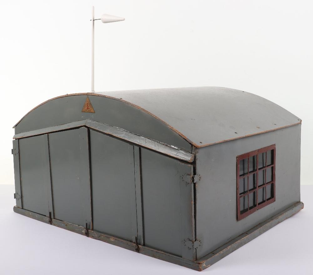 Rare Lines Brothers Model Aeroplane Hangar, - Image 3 of 10