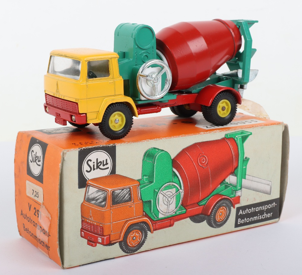Siku (Germany) V 291 Deutz Cement Mixer Truck