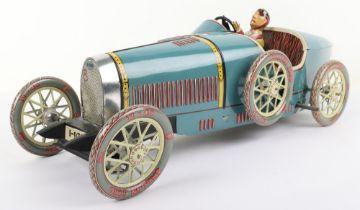 Paya reproduction clockwork type 35 Bugatti Racing car, Spanish 1990