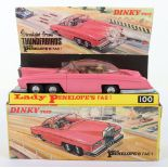 Dinky Toys Boxed 100 Lady Penelope's FAB 1 From TV series 'Thunderbirds'