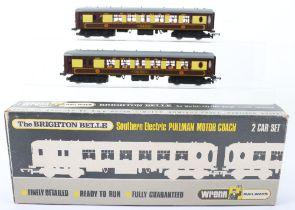 A Wrenn 00 Gauge W3006/7 Brighton Belle Southern Electric Pullman Motor Coach 2-Car Set
