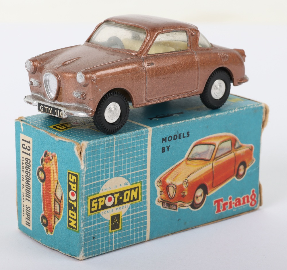 Scarce Tri-ang Spot On Model 131 Goggomobile super, Scarce metallic bronze body - Image 4 of 8