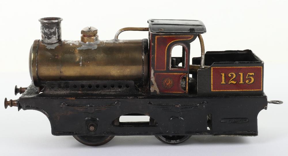 Bing 0 gauge 0-4-0 live steam tank locomotive 1215 - Image 2 of 5