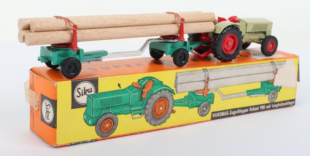 Siku (Germany) V 303 Hanomag 900 Tractor and Limber Trailer - Image 3 of 4