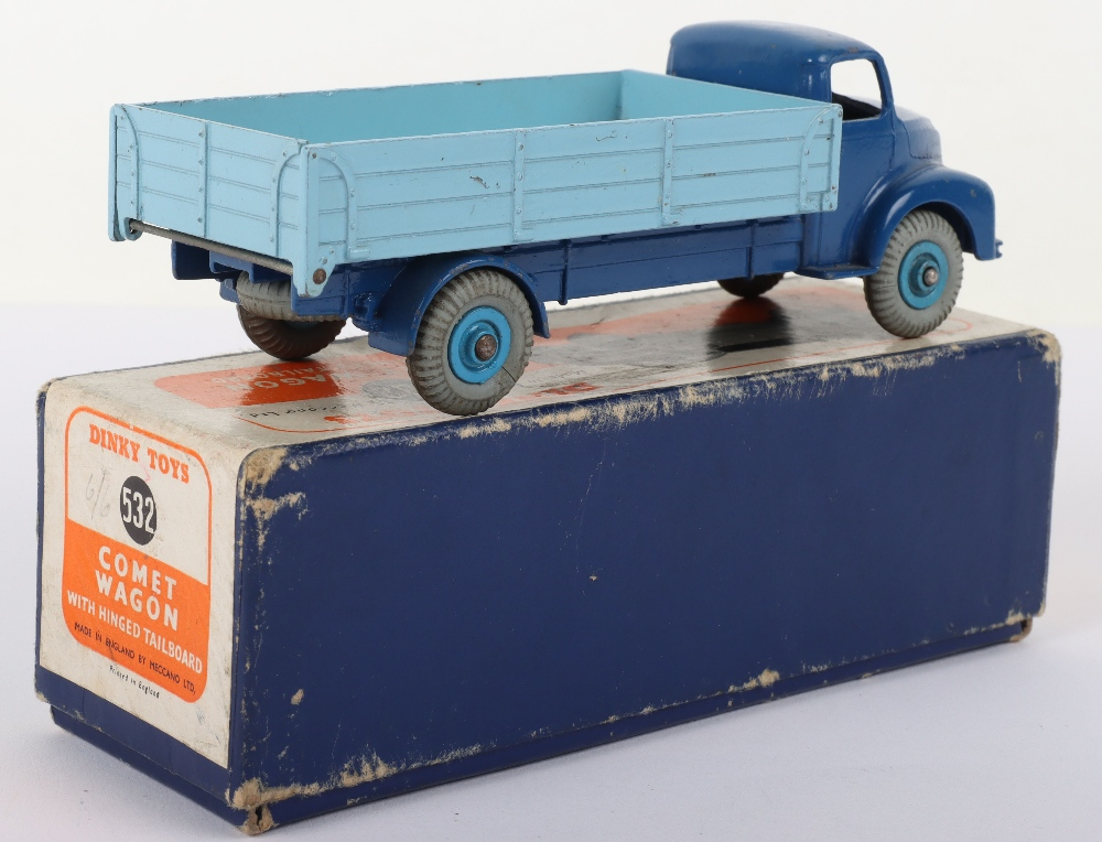Dinky Toys 532 Leyland Comet Wagon with hinged tailboard - Image 2 of 3