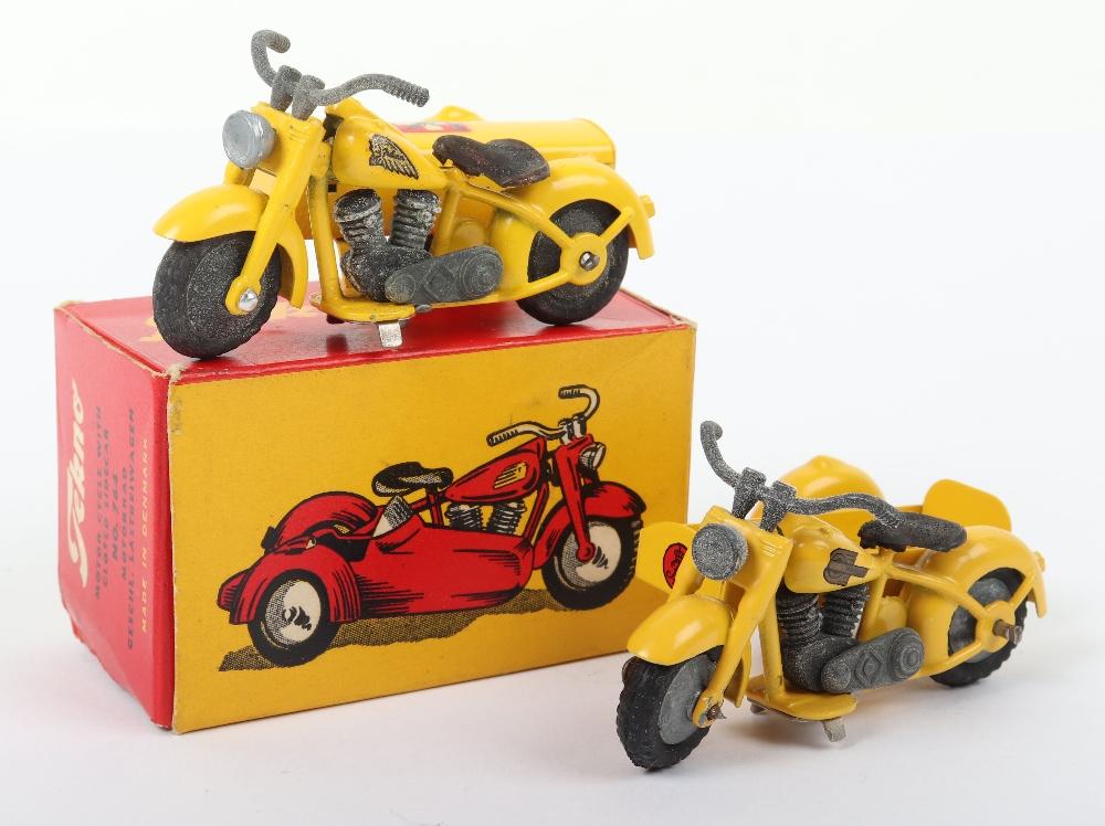 Two Tekno Harley Davidson Motorcycle Models