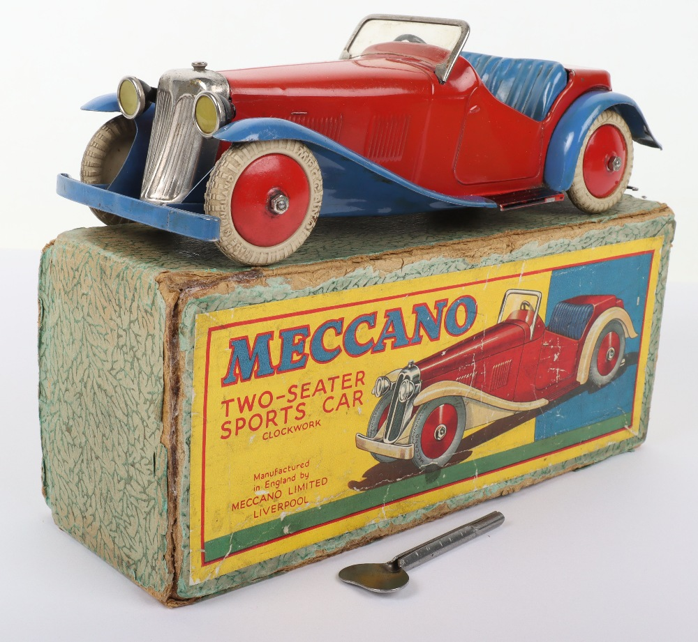 Boxed Meccano M223 Non- Constructor Two-Seater Sports Car - Image 8 of 8