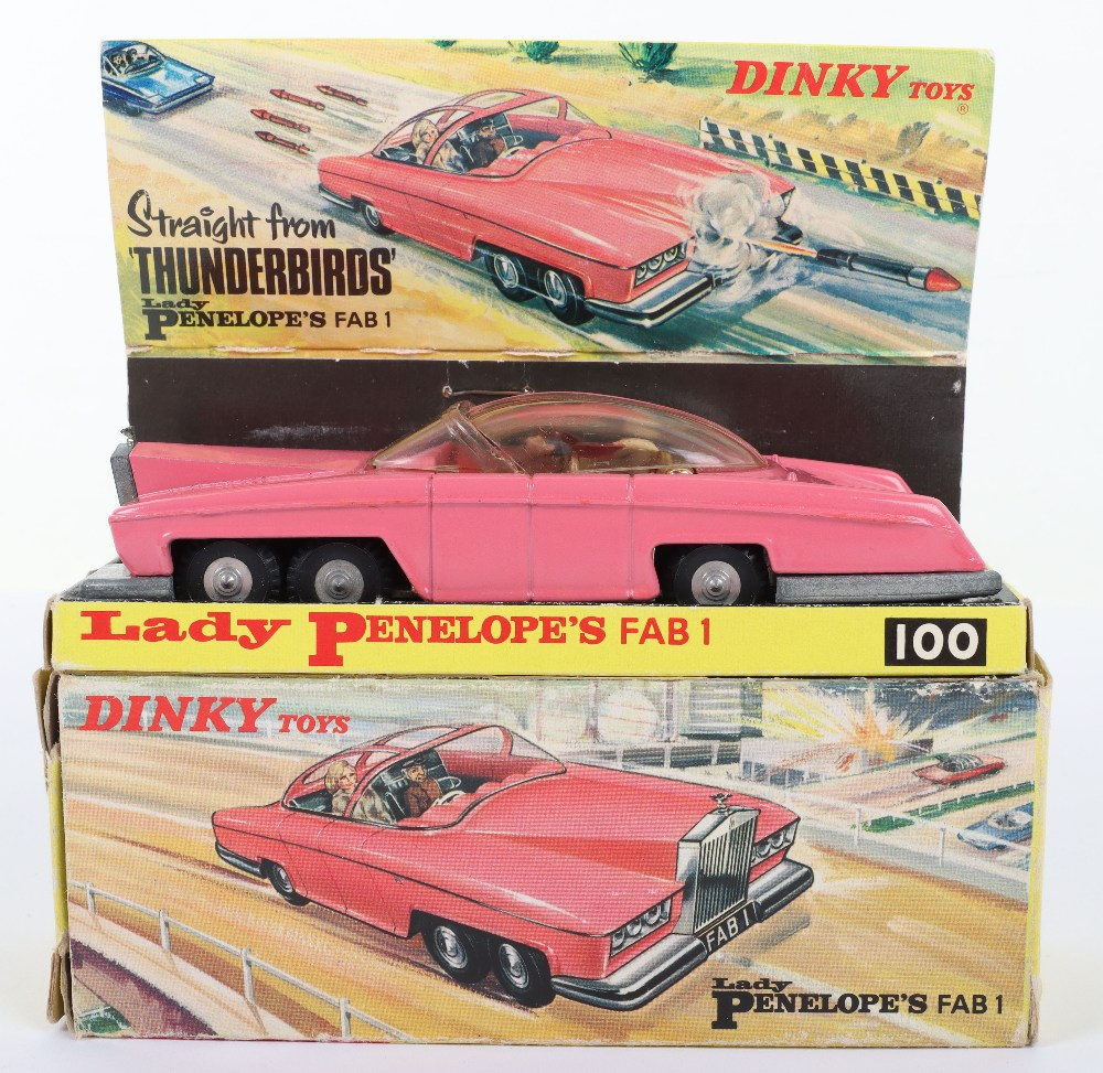 Dinky Toys Boxed 100 Lady Penelope's FAB 1 From TV series 'Thunderbirds