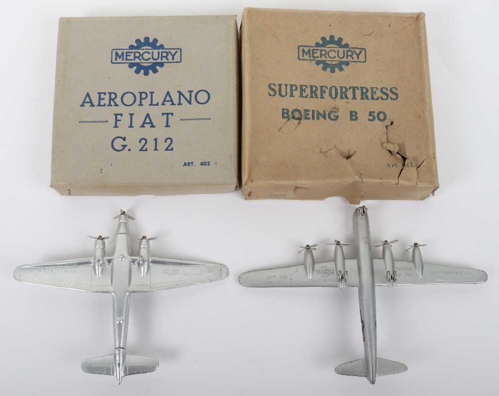 Two Boxed Mercury (Italy) Diecast Aircraft Models - Image 3 of 3