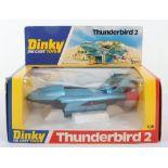 Dinky Toys 106 Thunderbirds 2 with Thunderbirds 4