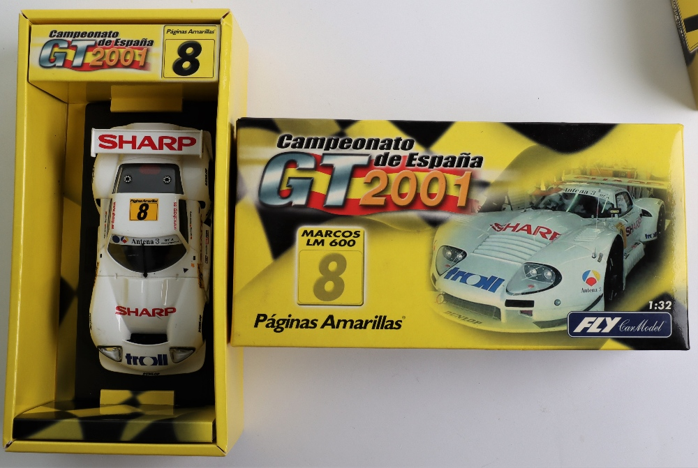 Four Boxed Fly Car Model Slot Cars, - Image 3 of 5