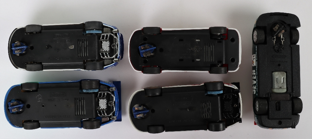 Five Unboxed Scalextric Hornby Slot Cars - Image 3 of 3