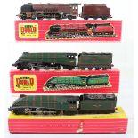 Boxed Hornby Dublo 00 Gauge 2-Rail Locomotives and Tenders