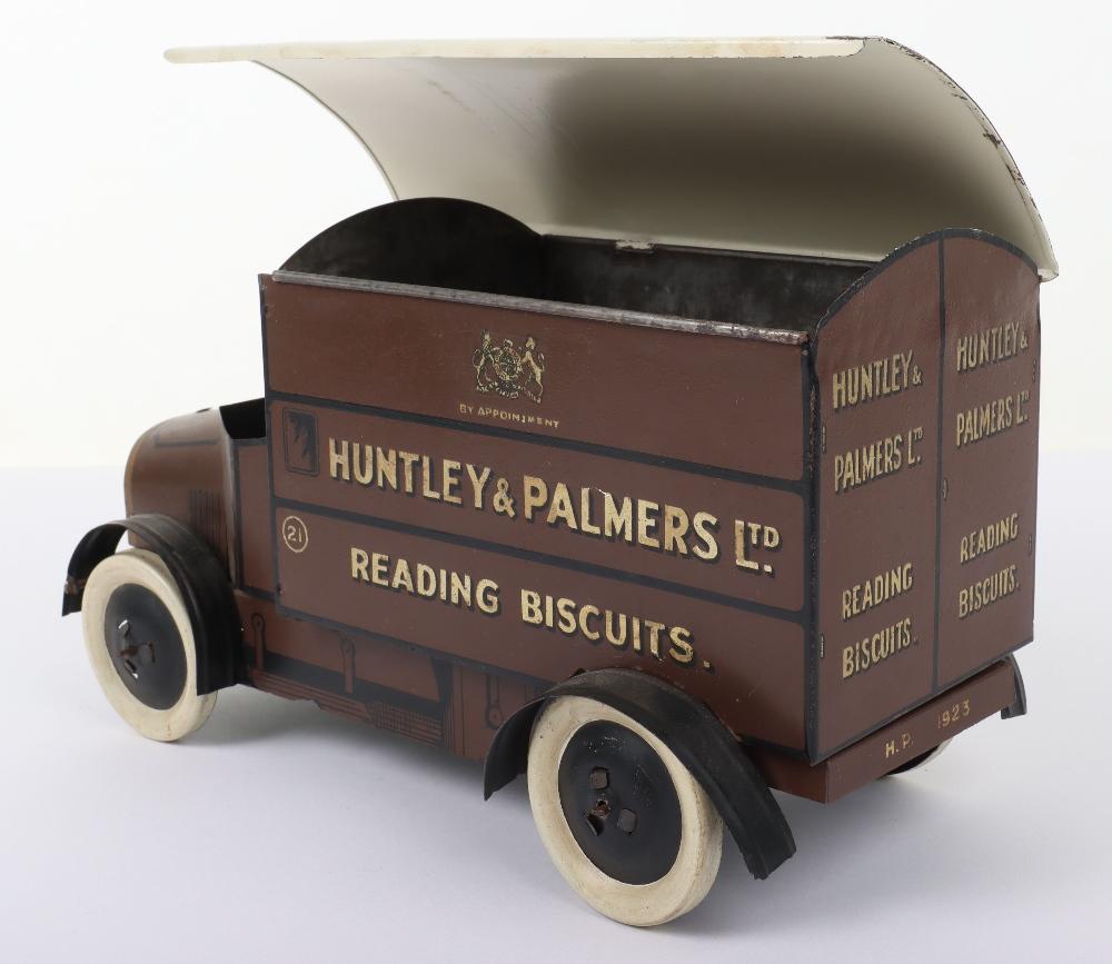 Huntley & Palmers Ltd Reading Biscuits Tinplate Delivery Van - Image 6 of 7