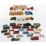 Quantity of Play-worn Dinky Toys