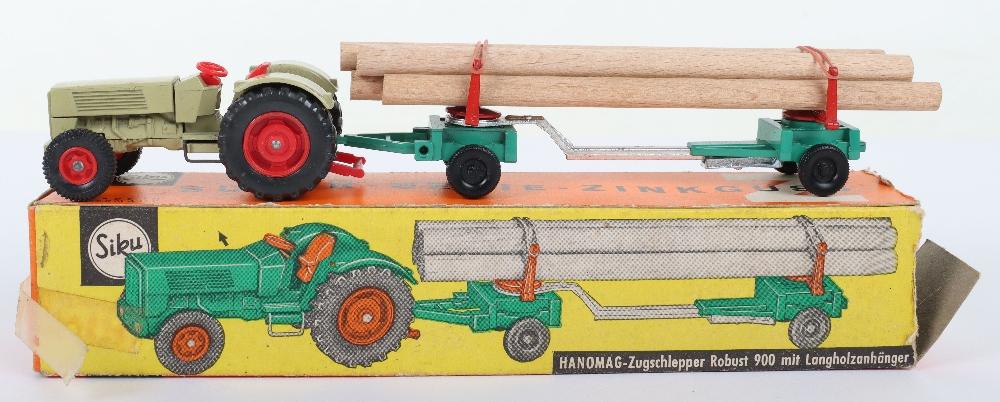 Siku (Germany) V 303 Hanomag 900 Tractor and Limber Trailer