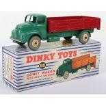 Dinky Toys 532 Leyland Comet Wagon scarce dark red back