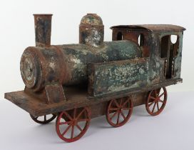 Rare Bing Large Scale Tank Locomotive Train