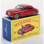 Matchbox Lesney 65b Jaguar 3.4 Litre