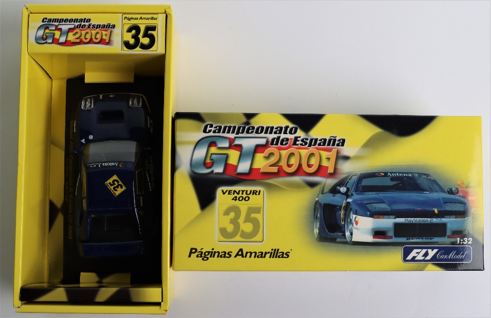 Four Boxed Fly Car Model Slot Cars, - Image 5 of 5